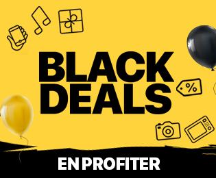 Bon plan Black Deals : jusqu'à -70% de remise sur une sélection de produits